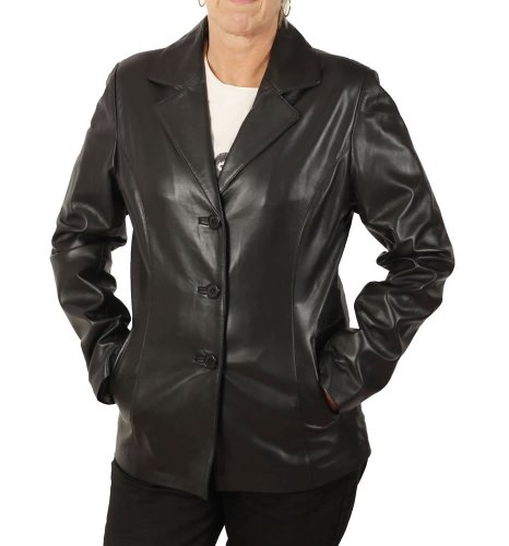 Nappa Leather Blazer - 8