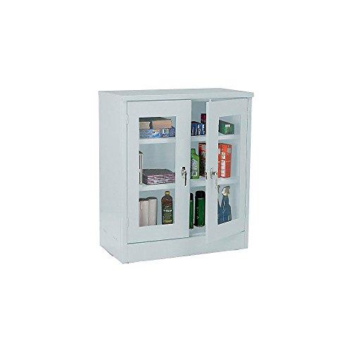 - Atlantic Metal Visual Storage Cabinet - 36X18x42