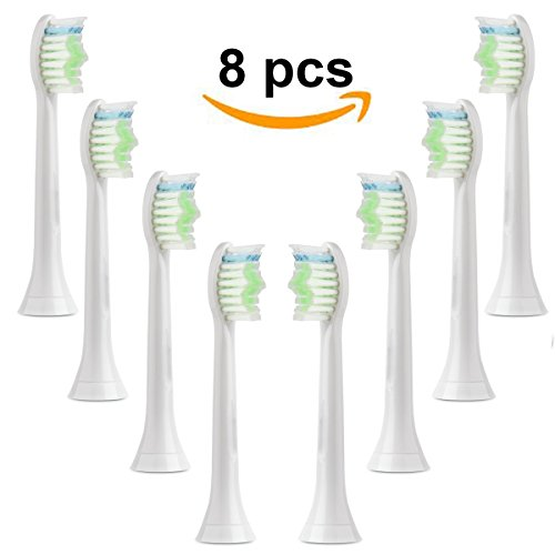 Toothbrush Heads for Phillips Sonicare Series Replacement Toothbrush Heads 8 PCS