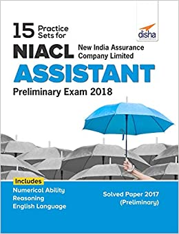 15 Practice Sets for NIACL - New India Assurance Company Limited