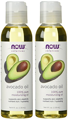 NOW Foods Avocado Oil (Liquid), 4 Ounce Bottles, 2 pk