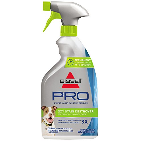 - Bissell Destroyer Pet Plus, 1773, 22 oz Oxy Stain Pretreat, 22 Fl Oz