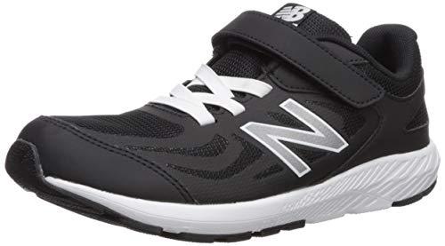 New Balance Boys' 519v1 Running Shoe, Black, 1M