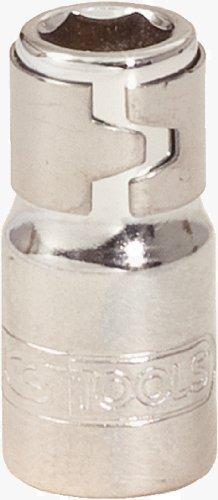 KS Tools 918.1422 1/4 Zoll Chrome Plus Bit-Adapter-Stecknuss, mit Spannring