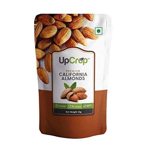 Upcrop Premium California Almonds 1kg,Raw