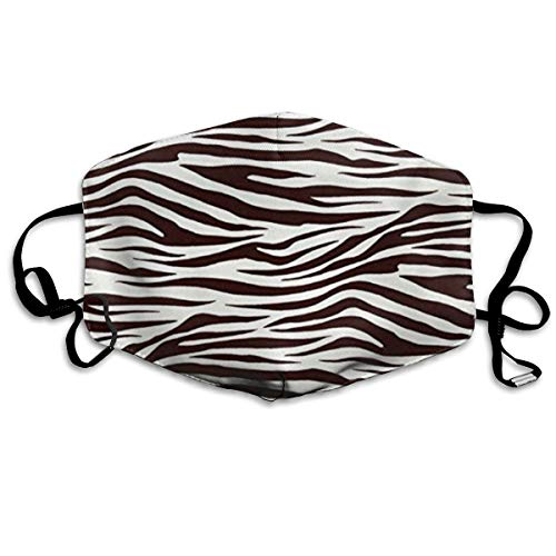 Killerboy Metro Living Zebra Chocolate Anti Pollution Dust Mask Washable and Reusable PM2.5 Face Mouth Mask Protection from Flu Germ Pollen Allergy Respirator Mask