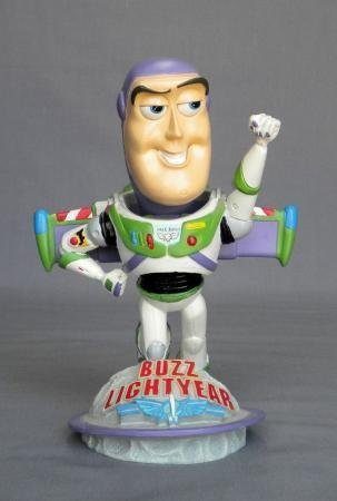 Hand Painted Bobble Head - Buzz Lightyear Bobblehead! Ceramic Hand Painted