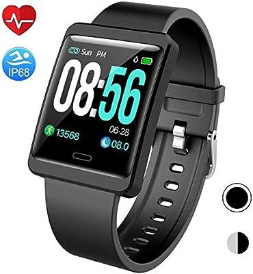Amazon.com: Mgaolo - Reloj inteligente con monitor de ...