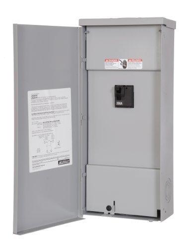Murray LW200VRU 200A Circuit Breaker enclosure, Breaker included by Siemens