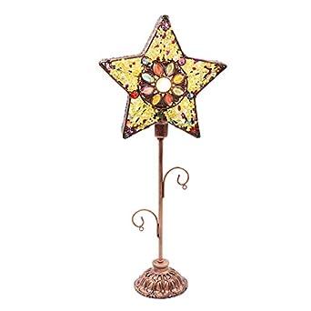 CCSUN Moderno Creativo Lámparas de mesa, Estrella Lámpara de ...