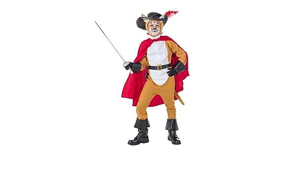 Banyant Toys Disfraz Gato con Botas 7-9 años: Amazon.es: Juguetes ...