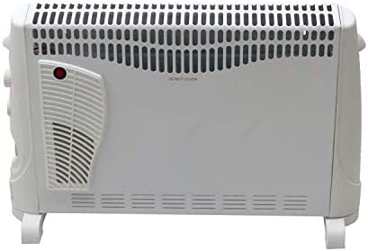 Oypla 2kW Convector Heater - 3 Heat Settings, Turbo and Timer