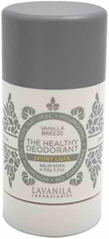 LaVanila - Sport Luxe Healthy Deodorant - 2.2 Oz / Vanilla Breeze