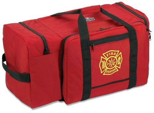Arsenal 5005 Large Firefighter Rescue Turnout Fire Gear Bag w/ Shoulder Strap & Helmet Pocket