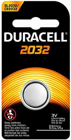 Duracell DL-2032B Long-Life Lithium Button Cell Battery 20 Pack Bundle