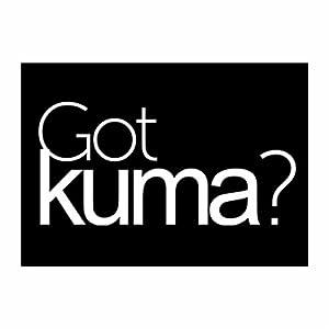 Amazon.com: Teeburon Got Kuma? Pack of 4 Stickers: Home
