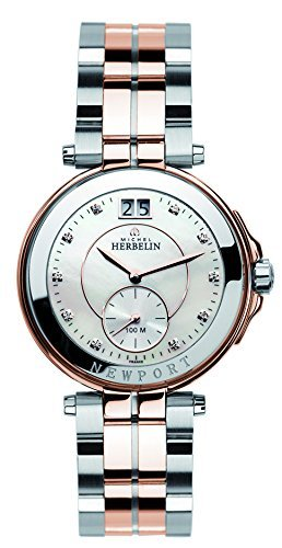 Lady's Watch - Michel Herbelin - Newport - 18266-BTR59