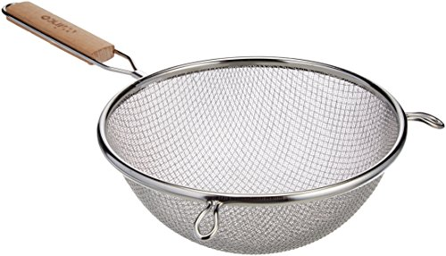- Winco MS3A-8D Strainer with Double Fine Mesh, 8-Inch Diameter