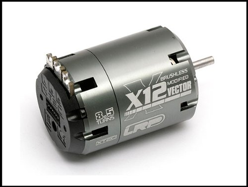 LRP Electronics Associated LRP50652 Vector X-12 8.5 Turn Brushless Motor ()