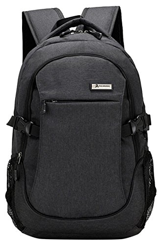 aptop Backpack Business Water Resistant Polyester with USB Charging Port, Fits Under 17