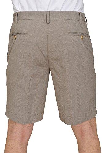 Incotex Pantalon Homme 48 Brun clair / Short Taille normale Coupe droite