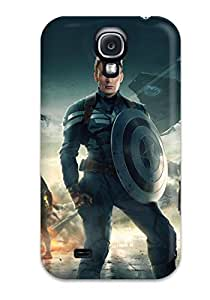 Hot New Captain America The Winter Soldier 2014 Case Cover For Galaxy S4 With Perfect Design