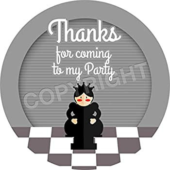 Chess Sticker Labels for Party Bag Sweet Cones
