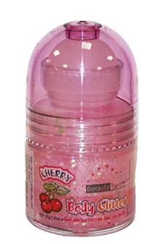 Prestige Biatta Women's Roll on Scented Body Glitter (Cherry)