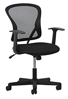 Essentials Swivel Mesh Task Chair With Arms - Ergonomic Computeroffice Chair (Ess-3011) 7