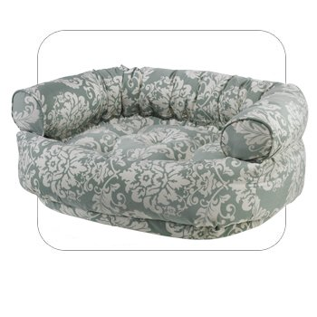 Double Donut Dog Bed Size: Large, Color: Spa, My Pet Supplies