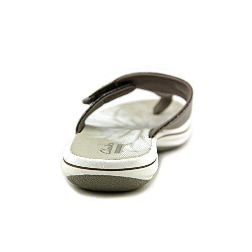 Clarks Brinkley Ster Synthetische Flip Flop Sandaal Tin