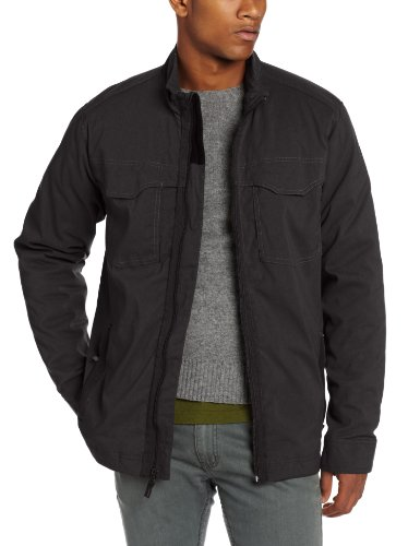 prAna Men's Ogden Jacket, Charcoal, (Prana Warm Up Jacket)