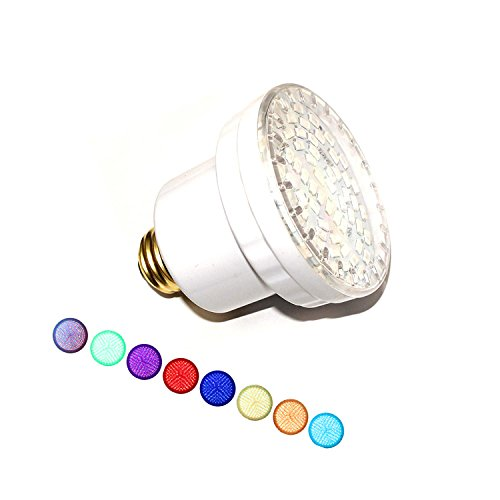 LAMPAOUS LED Hot Tub Lights Bulb, RGB Muliti Color LED Spa Lights, E26 Base Br20 Spa Bulb Replacement Bulb for Pentair, Hayward, Jandy Hot Tub Fixture, 120VAC 15 Watt