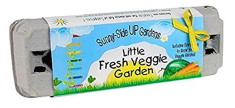 Backyard Safari Company Sunny-Side Up Gardens, Little Fresh Veggie Garden (Backyard Beans)