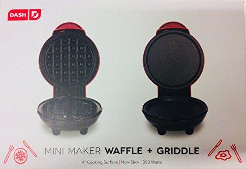 Dash Mini Maker Waffle + Griddle 4