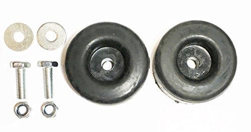 Sellerocity Brand 2 Pack Extreme Heavy Duty Rubber Foot Pad Anti Vibration Isolator 1