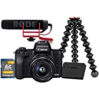 Canon 2680C999 EOS M50 CSC Camera Vlogger Kit