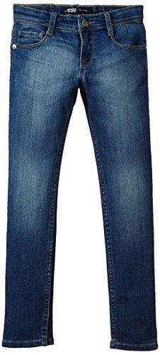 Levi's Indigo Azul Vaqueros Jeans Niñas Ajustados Skinny Fit 77qvxp6