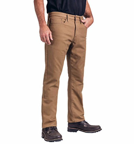 Weatherproof Vintage 1948 Fleece-Lined Jeans Classic Straight Leg (40W x 30L, Tan)