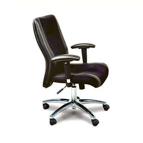 Mayline Mercado Leather Series Chair,