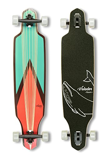 Volador 40inch Maple Longboard - Basic Cruiser (Sword)