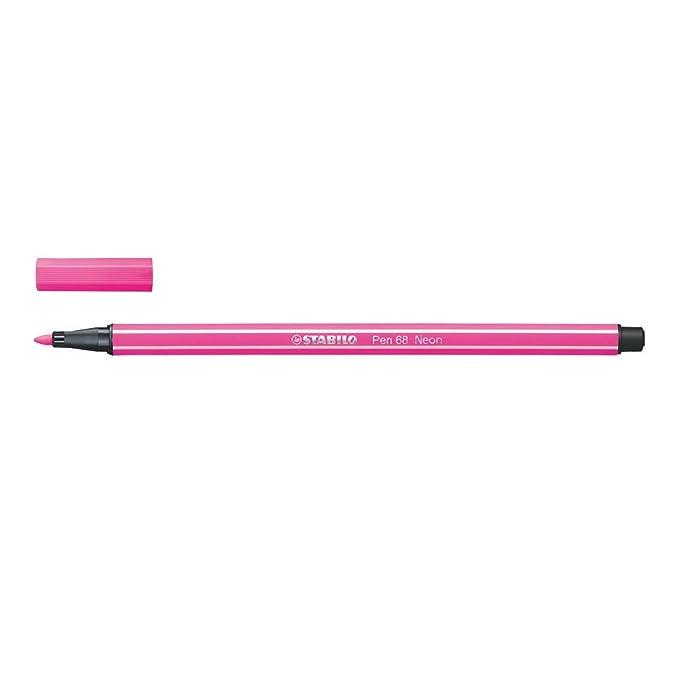 "1 Stück STABILO 68//056 /""Pen 68/"" Pen 68 Fasermaler Filzstift neonpink"