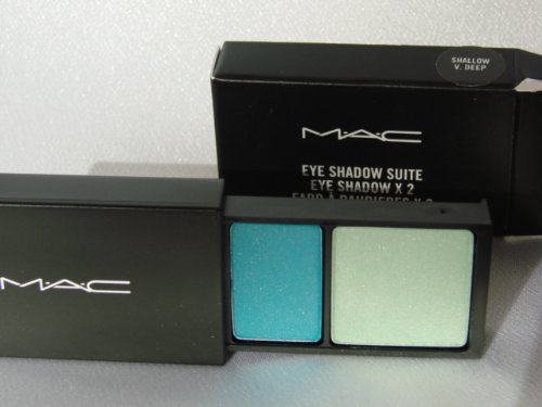 MAC Eye Shadow Suite ~ Shallow V. profonde ~ New in Box, toujours authentique