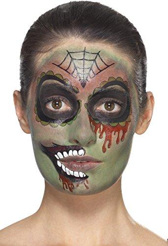 Dead School Boy Makeup Halloween (Halloween Day of the Dead Zombie Make-Up)