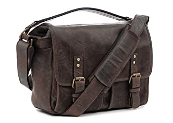 Ona - The Prince Street - Camera Messenger Bag - Dark Truffle Leather (Ona5-024ldb) 1