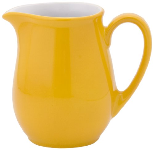 Arzberg Creamer (KAHLA Pronto Creamer 8-1/2 oz, Orange Yellow Color, 1 Piece)