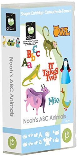 Cricut Noah's ABC Animals Cartridge ()
