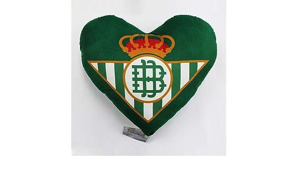 Real Betis Balompié - Cojín con escudo del club y forma de ...