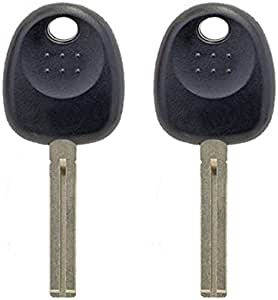 New Uncut Blank Chipped Transponder Key Fits for Hyundai Kia ID46 Chip HY20-PT