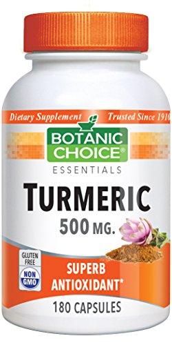 Botanic Choice Turmeric Capsules Count